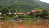 Aankomst in Muang Ngoi Neua