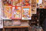 Schilderijen op straat