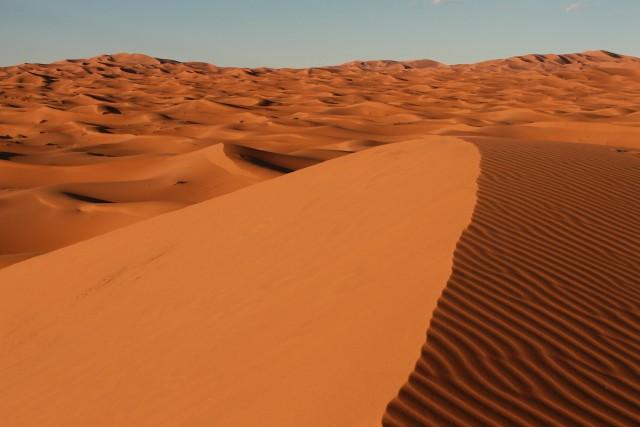 Het was zó mooi en stil in de woestijn
