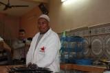 De kok van onze 'vegetarische' Tajine