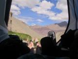 Uitzicht vanuit tent