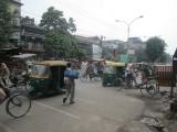 Straatbeeld Delhi