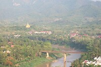 Uitzicht vanaf Phousi Mountain