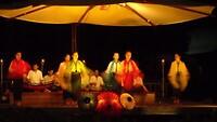 Loasaanse dansers en muziek, wat een