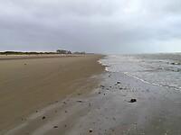Strand tussen Bray-Dunes en De Panne
