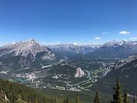 Uitzicht op Banff