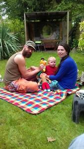 Romke, Rachel en Noam