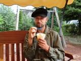 ijsje eten, vers gemaakt