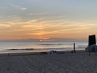 One sunset van vandaag