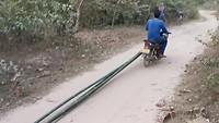 Bamboe vervoer