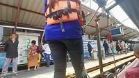 Met de boot in Bangkok