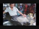 Roti canai met ei en ui