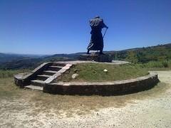 Pelgrimsbeeld Alto San Roque