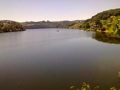 Stuwmeer bij Portomarin
