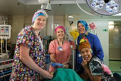 Crazy scrubs