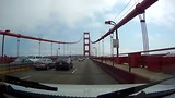 Rijden over de Golden Gate Bridge