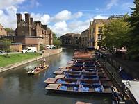 De vele gondels van Cambridge
