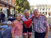 Willem met Stewart and Wilma