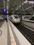 met de ICE naar Leipzig
