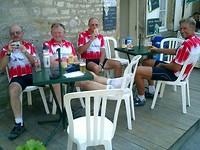 we zitten OK in Vezelay