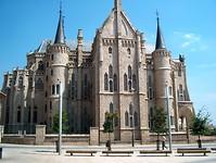 het mooie paleis van Gaudi