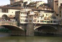 de beroemde brug in Florence