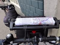 15 meter route op de fietsrol