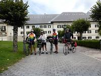 Augustijner klooster Roncesvalles wordt bezocht