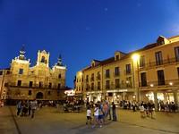 's avonds genieten van het uitgaansleven in Astorga