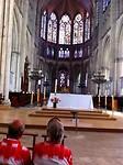 in de gotische kathedraal St. Pierre-et-Paul in Troyes komen we tot rust en bezinning
