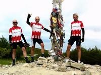 weer een hoogtepunt op onze fietsreis naar Santiago de Compostela