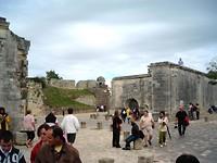 Romeinse overblijfselen in het stadje Saintes