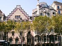 één van de vele Art Nouveau bouwwerken