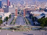 uitzicht op de stad vanaf Nationaal Paleis