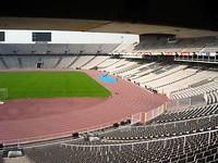bezoek aan het olympisch stadion van 1992