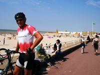 Willem ziet het strandleven van Le Touquet