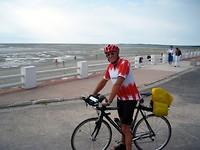 aankomst in Le Crotoy na 168 km