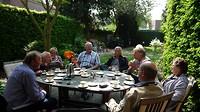 koffiestop in Tilburg op weg naar Op de Hej