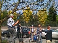 Gijsbert zaagt een tak uit de boom
