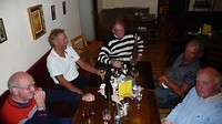 gezellig na-tafelen in Slavonice