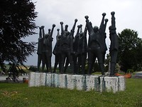 Hongaars monument in Mauthausen