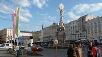 prachtige gezellige binnenstad in Linz