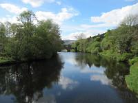 Eas Gobhain, uitloop van Loch Venachar
