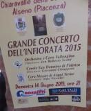 Chiara Valle della Colomba concert aankondiging