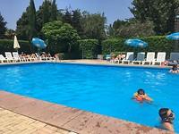 Lekker rustig aan het Zwembad