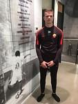 Nieuw trainingspak voor de transfer naar AS Roma
