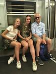 Gezellig in de trein naar Vaticaan