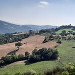 uitzicht op weg Valfabbrica