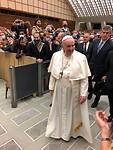 indrukwekkend de Paus van zo dichtbij te zien.
