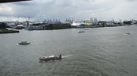 Uitzicht over de haven